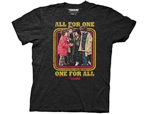 Licensed Adults Goonies All For One, One For All T-shirt, S, L, XXL