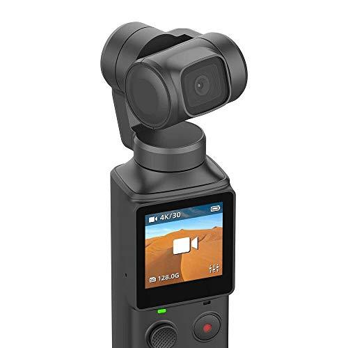 Bascar per XiaoMi Mi Fimi Palm Action Camera Gimbal Handheld Gimbal Stabilizzatore a 3 Assi Splash Proof – Fotocamera Digitale 4K HDR, connessione WiFi Bluetooth, Schermo LED, palmare Gimbal, 4 Ore