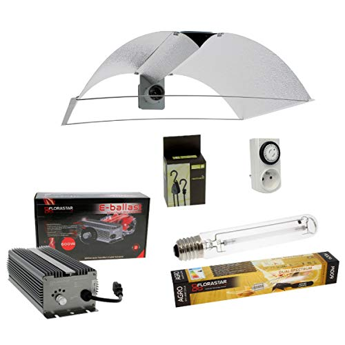 Kit lampe Electro 600W FLORASTAR + PEARL PRO XL - Agro