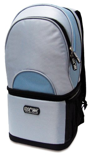 Cool Safe 9328127 Rucksack PRO mit integr. Kühltasche, TÜV-geprüft