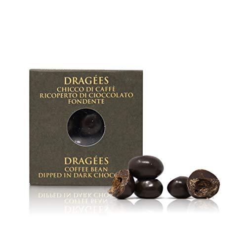 Ta Milano Dragèes con Chicco di caffè ricoperto di Cioccolato Fondente 66% - 120g