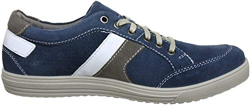 Jomos Herren Ariva Sneaker, Mehrfarbig (jeans/platin 8025), 44 EU