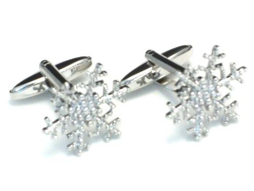 Boutons de manchette - Flocon de neige