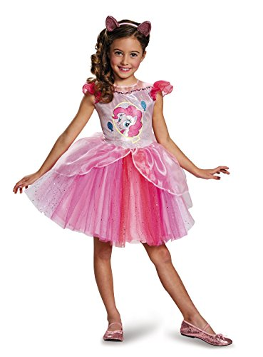 Disguise Pinkie Pie Tutu Deluxe My Little Pony Costume, Small/4-6X by Disguise