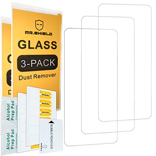 [3-Pack]-Mr.Shield for OnePlus Nord [Tempered Glass] [Japan Glass with 9H Hardness] Screen Protector with Lifetime Replacement