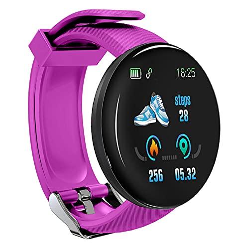 Chahu Relojes Inteligentes Pulsera Inteligente Pantalla Redonda Frecuencia Cardíaca Monitoreo Salud Identificación de Llamadas