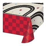Vintage Race Car Paper Tablecloths, 3 ct