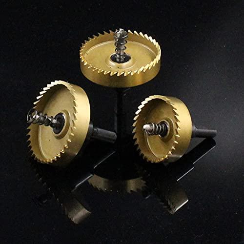 1 PCS 16-80mm HSS M35 Agujero Sierra Kit de dientes HSS Herramienta de corte de broca de broca de acero para carpintería Abrector de agujero de aleación de madera de metal (Size : 32mm)