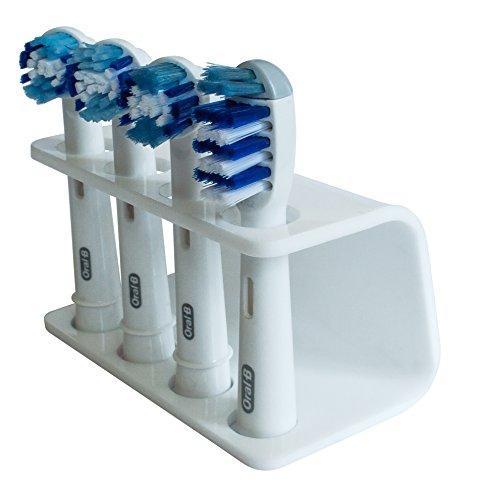 adhesivo montado en la pared estante de almacenamiento para cepillos de dientes dispensador 1PCS Soporte para cepillo de dientes el/éctrico GTWCK Philips Fairywill y m/ás ajuste para Oral-B