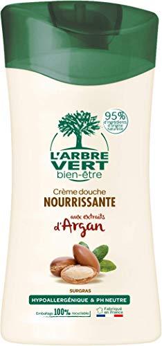L'arbre vert Bien-être Crème Douche Argan aux Extraits d'Argan - Pack de 6