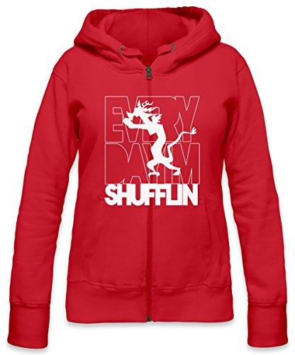 Discord Shufflin Womens Zipper Hoodie X-Large