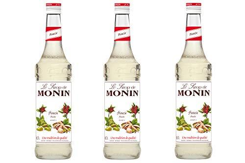 Monin Sirup Pistazie, 0,7L 3er Pack