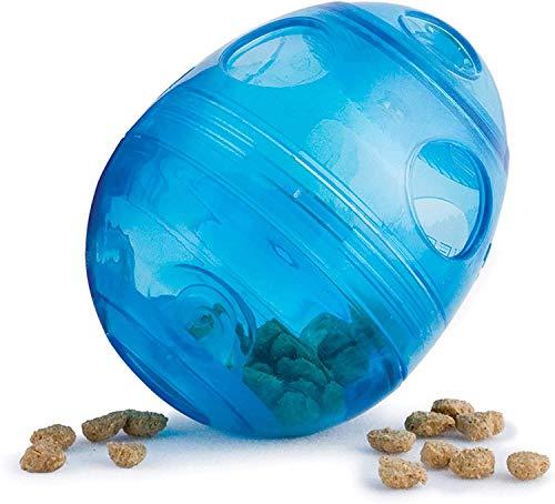 PetSafe Funkitty Katzenspielzeug Egg-Cersizer, Snackball mit einstellbarer Futterausgabe, für Katzen und Kätzchen