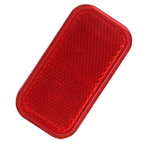 Reflector De Seguridad, Reflector Rojo Material ABS Para Motor De Automóviles