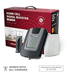 BEST VALUE IN A RESIDENTIAL BOOSTER — The Home Room offers improved cellular reception indoors; resulting in fewer dropped calls, better voice quality, faster data speeds, and more within its coverage area IDEAL FOR HOME OFFICE OR APARTMENT — For one...