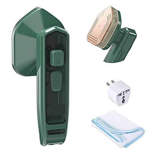 DFGHA Micro Plancha de Vapor Profesional, Mini máquina de Planchar, vaporizador de Ropa de Mano portátil, vaporizador Ligero para Ropa, Adecuado para el hogar y los Viajes (1SET)