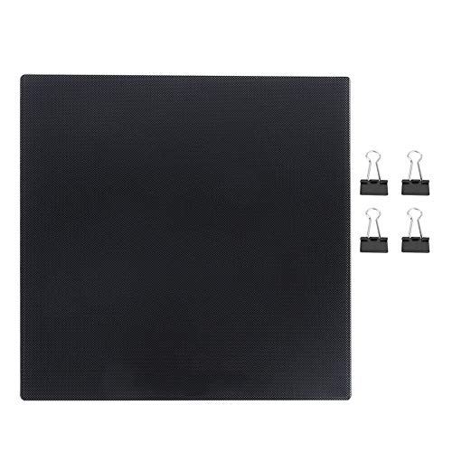 Dingln Placa De Carbono De Silicio De Cristal 235 X 235 Mm Plataforma De CR10 / Ender3 / 3S Impresora 3D Caliente Cama
