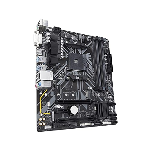 La Placa Base de la computadora de la Placa Base Apta Fit For GIGABYTE GA-B450M Ds3h es Adecuada Fit For AMD Am4 Ryzen 3/5/7/9 1th.2th.3th