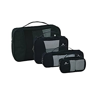 Eagle Creek Pack-It Cube Set with Slim Tube Cube, Black