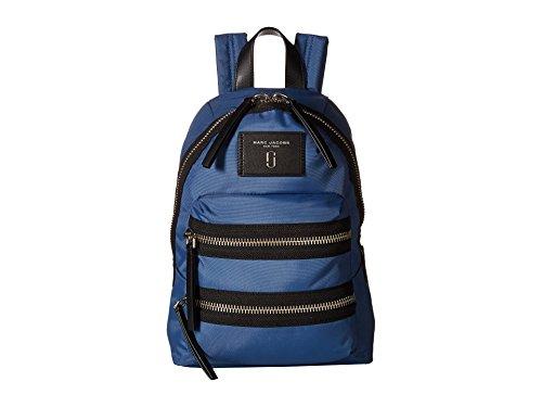 Marc Jacobs Zaino zaino Nylon vingtage blu 25x35x4cm nuovo.