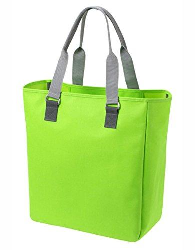 HALFAR® HF7781 Shopper Solution Freizeittaschen Einkaufstaschen Tasche, Farbe:Apple Green
