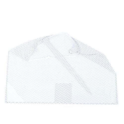 Ondulación de toalla de lactancia agradable para la piel para bebés de 0 a 3 años(ripple)