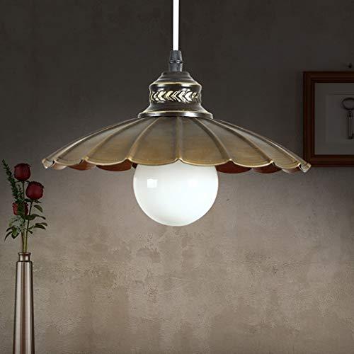 YANGQING Lámpara de luz moderna minimalista comedor de estilo industrial lámpara de araña de hierro forjado/lámpara de la tapa de la lámpara