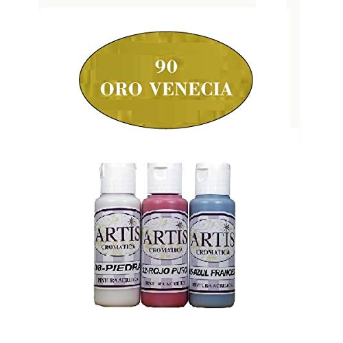 PINTURA ACRÍLICA ARTIS CROMÁTICA 60 ML ORO VENECIA