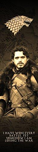 Robb Stark Game of Thrones Bookograph Metal Bookmark