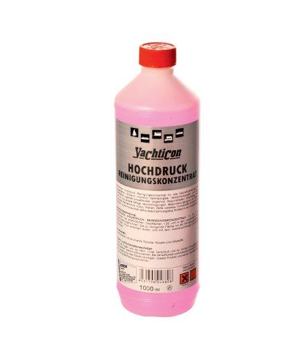Hochdruck Reinigungskonzentrat von Yachtikon - Alkalisches Hochdruck Reiningngskonzentrat für alle Hochdruckreiniger mit Laugentangs - Reiniger entfernt Verschmutzungen auf allen Öberflächen