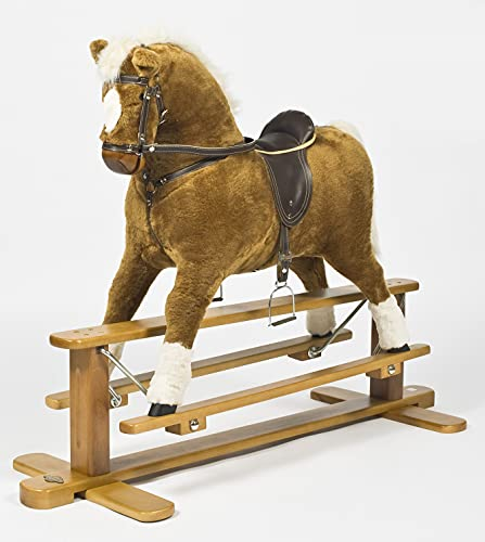 MJmark SALE SALE WHILE STOCK LAST Handmade Rocking Horse MERCURY PINTO Cheval à bascule from