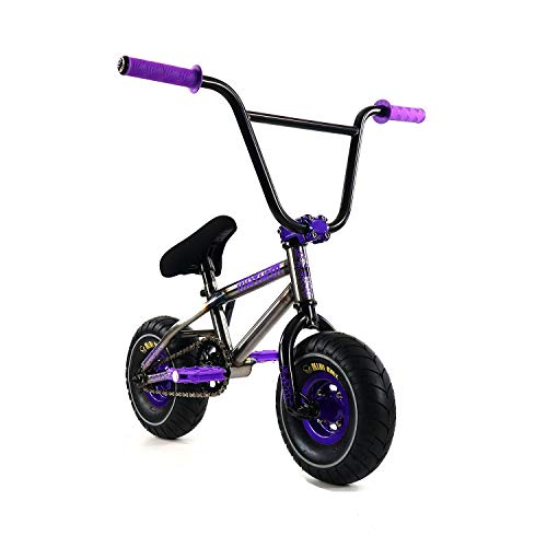 Fantastic Deal! Mayhem Fat Tire Riot Raw Crank, Mini BMX Newest Model Trick Bike