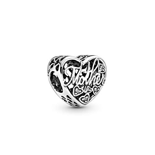 Mother & Son Bond Silver Charm