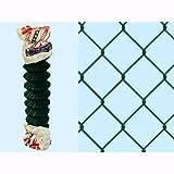 Rete Recinzione Romboidale Verde Nevada 25 mt. - H. 200 cm. - maglia 50x50 mm