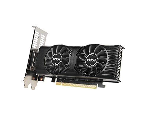 MSI Gaming GeForce GTX 1650 128-Bit HDMI/DP/DVI 4GB GDRR5 HDCP Support DirectX 12 VR Ready OC Low Profile Bracket Included Graphics Card (GTX 1650 4GT LP OC)