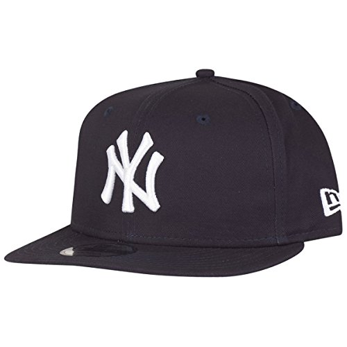 New Era MLB Yankees 9FIFTY Snapback casquette de Baseball Homme, Bleu (Team), Large (Taille fabricant: M/L)