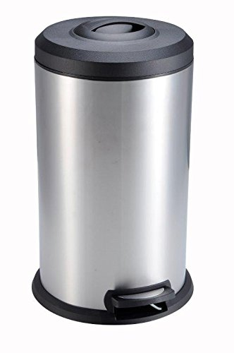 The Step N Sort 959586 Compacting Trash Can, 40 Liter