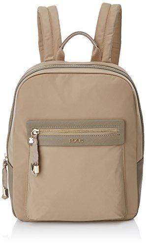 TOUS 695810088, Bolso mochila para Mujer, Beige (Topo), 26x33x9.5 cm (W x...