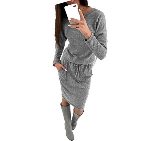 WanYang Donna Pullover Abito Felpe a Basso Costo Maniche Lunghe Invernali T Shirt