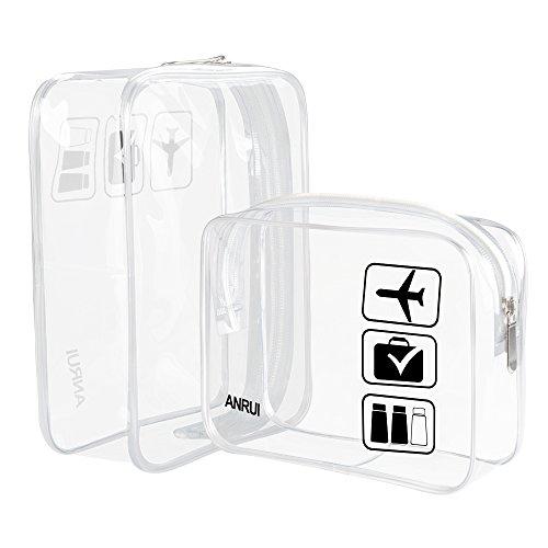 ANRUI, Trousse de toilette, transparent (Transparent) - R-9