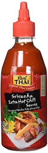 Real Thai Sriracha Extra Hot Chili Sauce (1 x 430 ml)