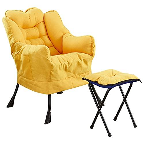 ikea fauteuil met voetenbank