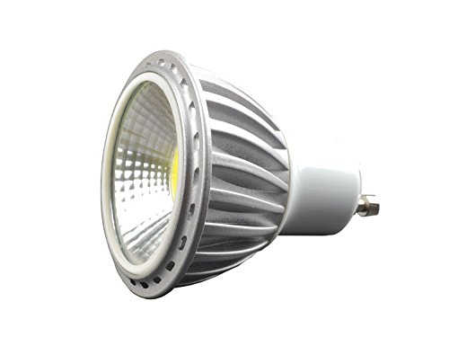 GU10 LED Lampe 6W (ersetzt 60W) Scheinwerfer 120 Grad Einbauleuchten Strahler, 220-240V, Warmweiss, 10-er Pack