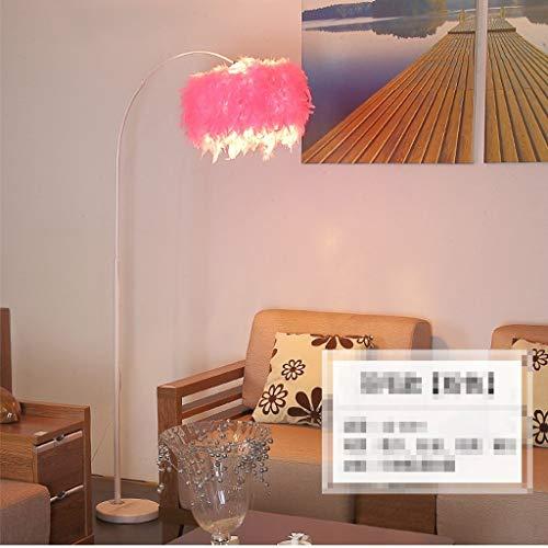 NA Home staande lamp, staande led, vloerlamp vissen, eenvoudige moderne persoonlijkheid, afstandsbediening, lichten, Nordic creatieve piano verticale lichtjes oogbescherming verticale tips