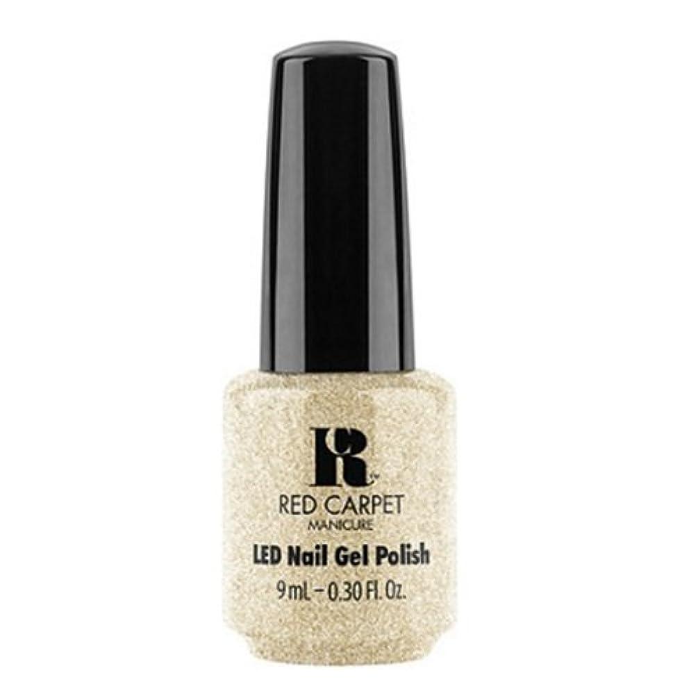化石ぬれた破壊的Red Carpet Manicure - LED Nail Gel Polish - All the Sparkles - 0.3oz / 9ml