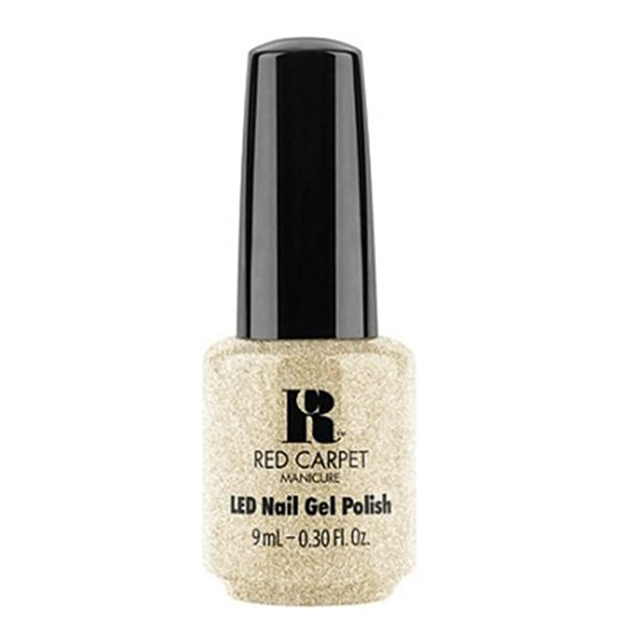 解決する遠いウィザードRed Carpet Manicure - LED Nail Gel Polish - All the Sparkles - 0.3oz / 9ml