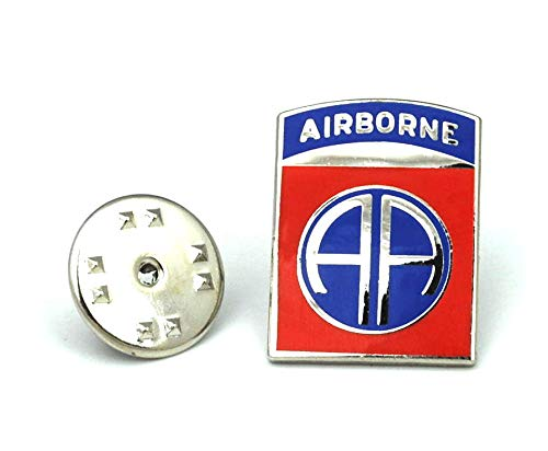 Gemelolandia Anzugnadel 82 Teilung Flughafen USA The 82nd Airborne Division US Lapel Pin