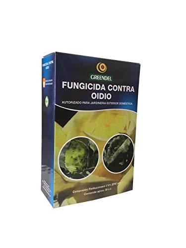 Greendel Fungicida contra Oídio, Monilia, Roña o Moteado y Roya Tratamiento de Hongos de Uso Autorizado en Jardinería Exterior Doméstica - 30 ml