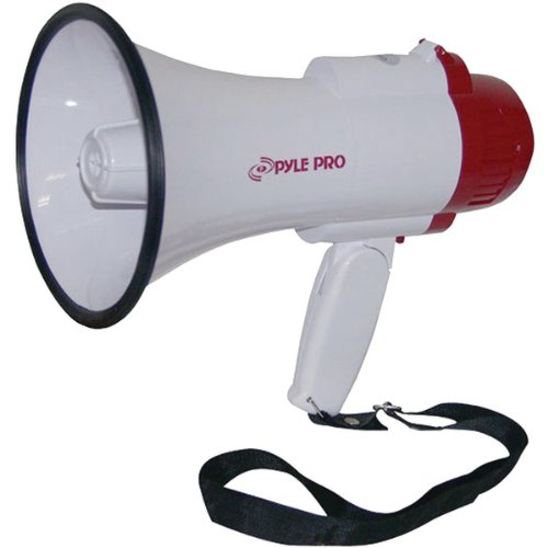 New PYLE PRO PMP35R Professional Megaphone/Bullhorn with Siren & Voice Recorder