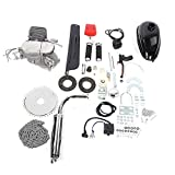 Motor Engine Bike Kit, 100cc Bicycle Engine Kit 2-Stroke Gas Motorized Motor Bike
